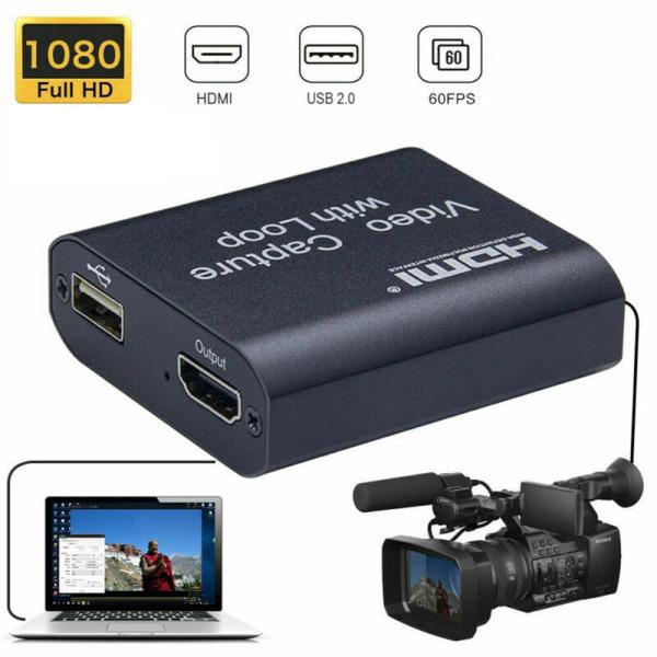 Bảng giá PUREMOM đĩa DVD USB Ghi Chụp trò chơi Trò chơi Live streaming HDMI Máy ảnh Hộp ghi âm Video Grabber Chụp thẻ Máy ghi âm Phong Vũ