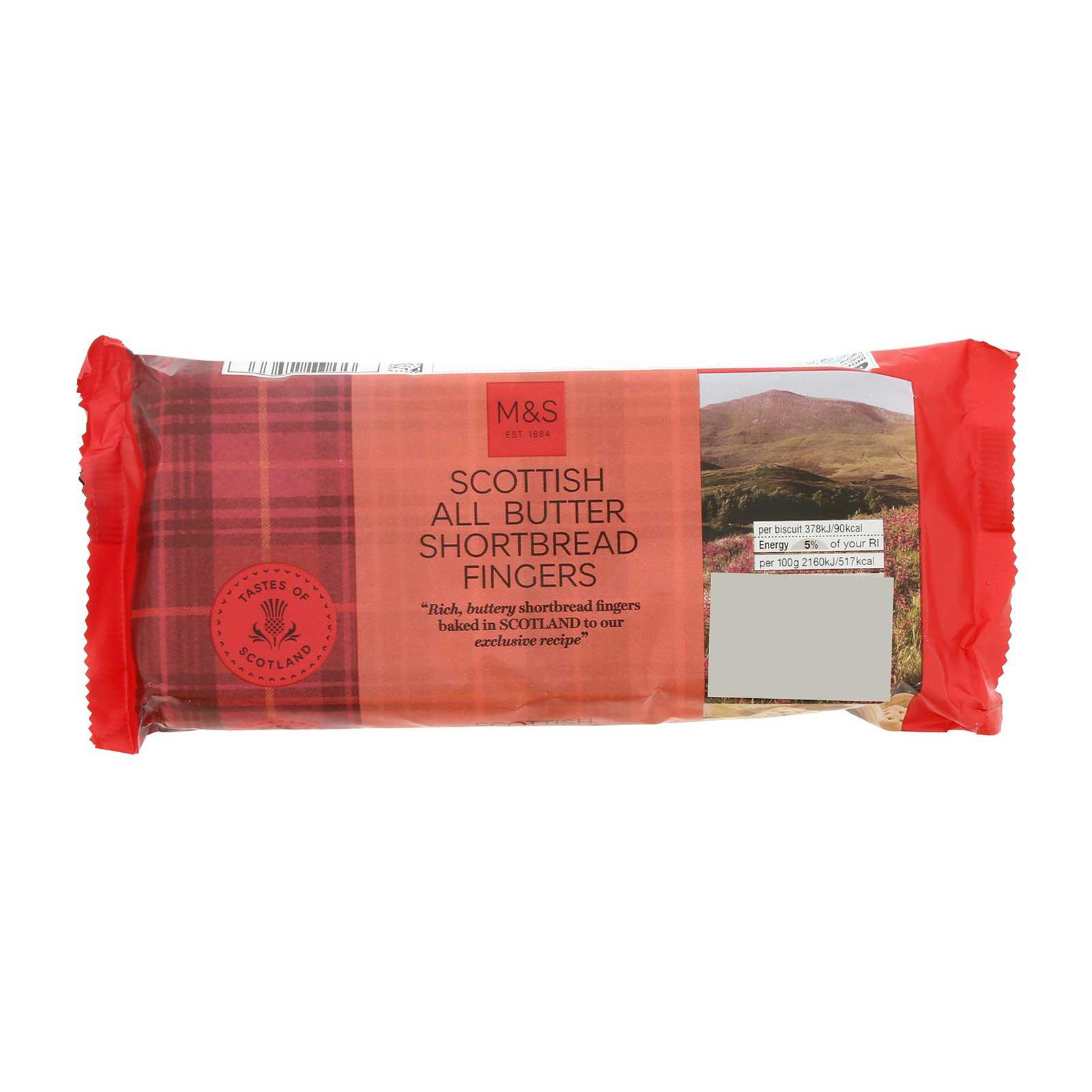 Marks & Spencer All Butter Scottish Shortbread Fingers