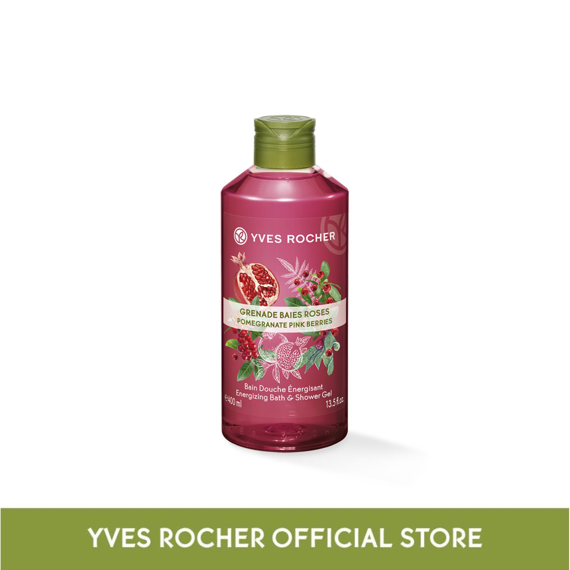 Yves Rocher Energizing Pomegranate Pink Berries Shower Gel By Yves Rocher Singapore (capitaland Merchant).