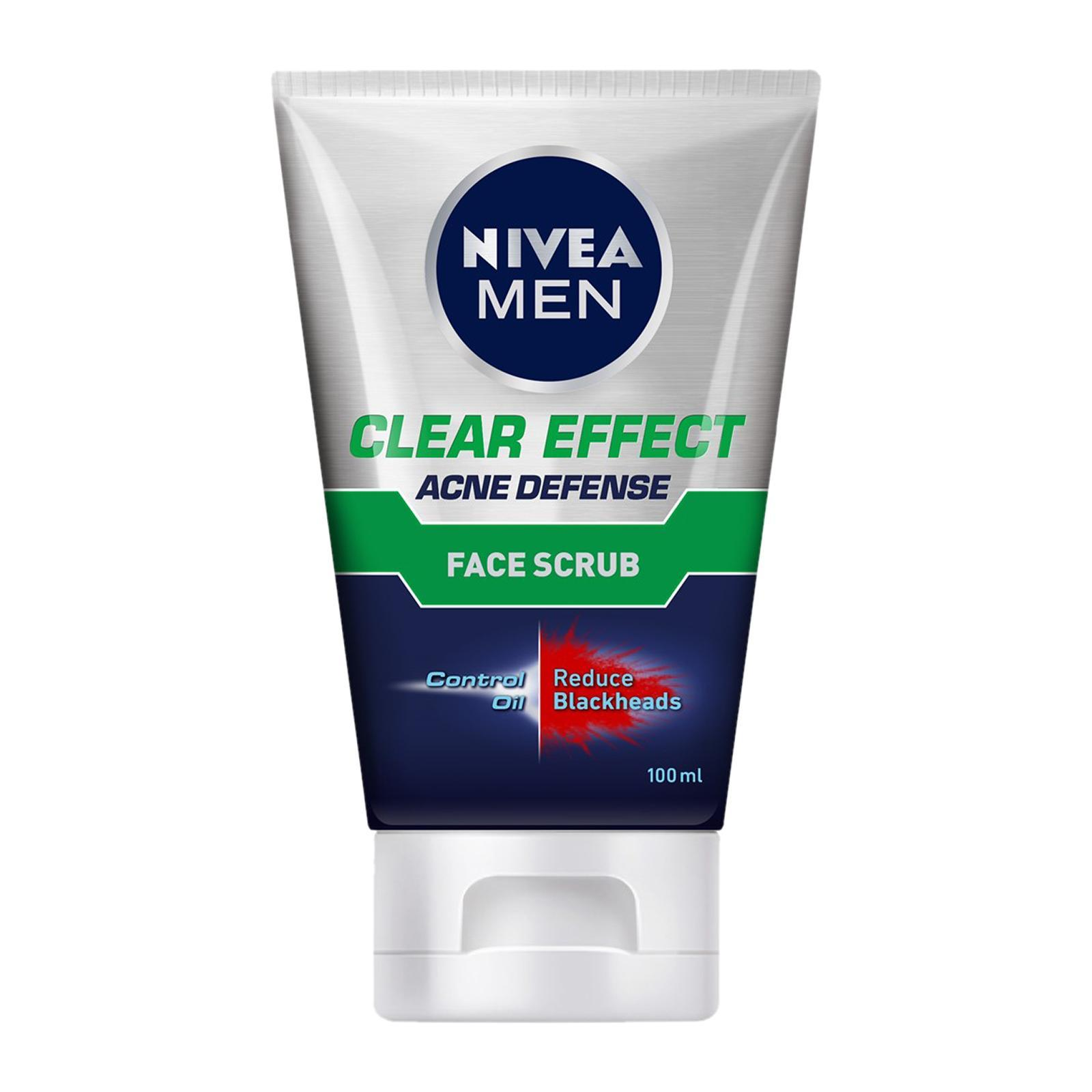 Nivea Men Clear Effect Acne Defense Face Scrub