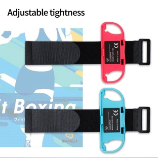 Wrist Bands for Nintendo Switch Controller Game Just Dance 2020, Adjustable Elastic Strap for Joy-Cons Controller thumbnail