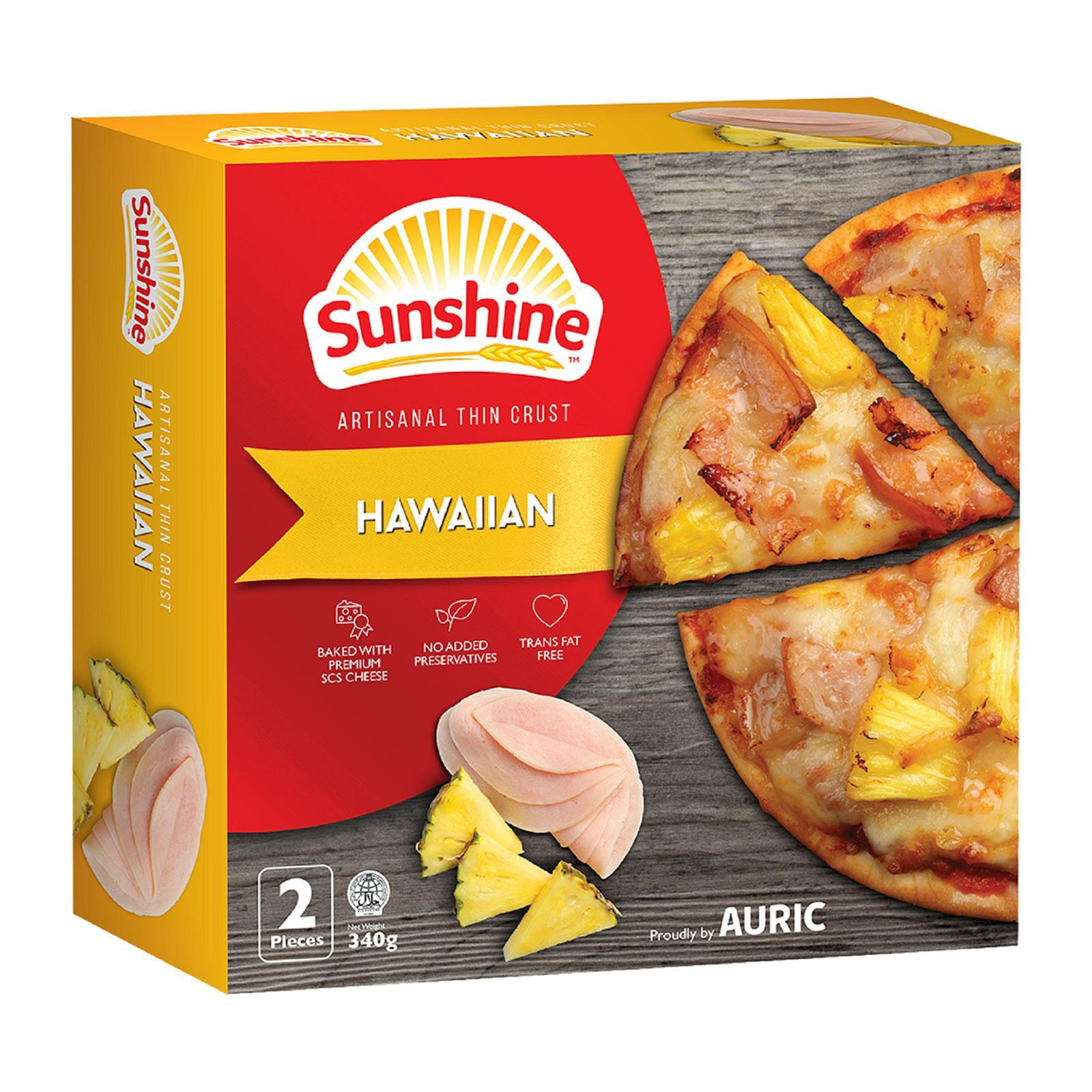 Sunshine Haiwaiian Pizza 6 - Frozen By Redmart.