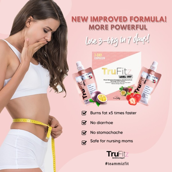 Buy Trufitz Double Shot Lose Weight in 7 days! Slimming Juice for Weight Loss Supplement Singapore