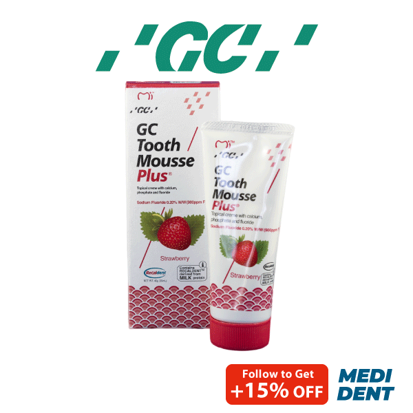 Buy GC TOOTH MOUSSE PLUS WITH EXTRA MILK PROTEIN STRAWBERRY 40G Singapore