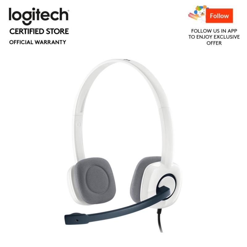 Logitech H150 White Stereo Headset Singapore