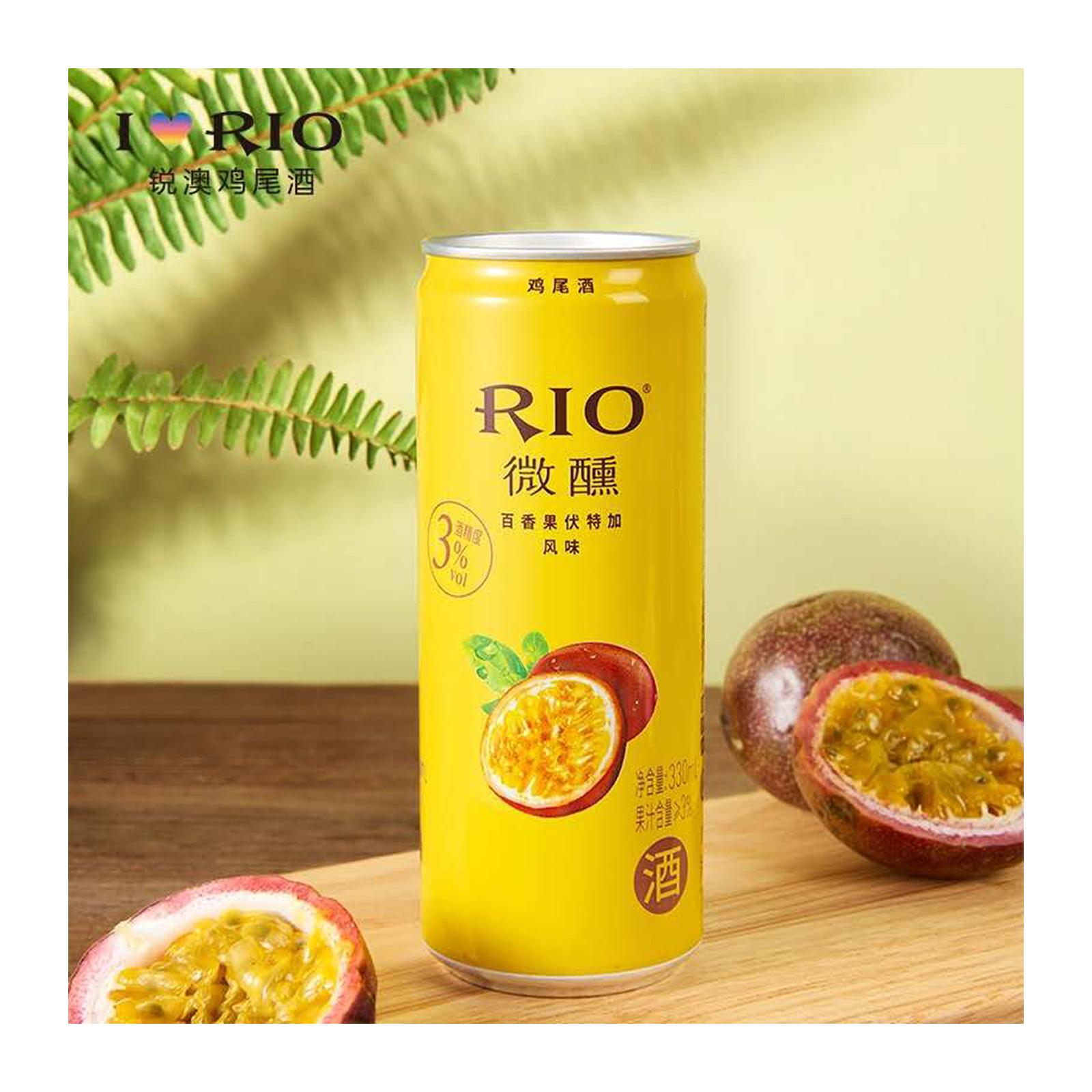 Rio Cocktail Passion Fruit+Brandy 3.0% 330Ml