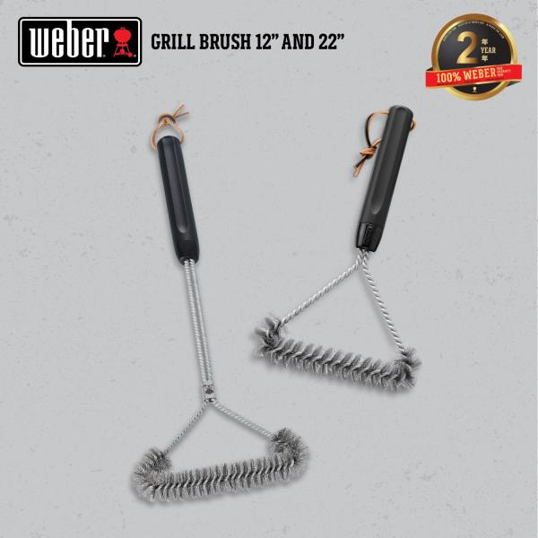 Weber® 21  Grill Brush - 6493 (Starter 5 Accessories)