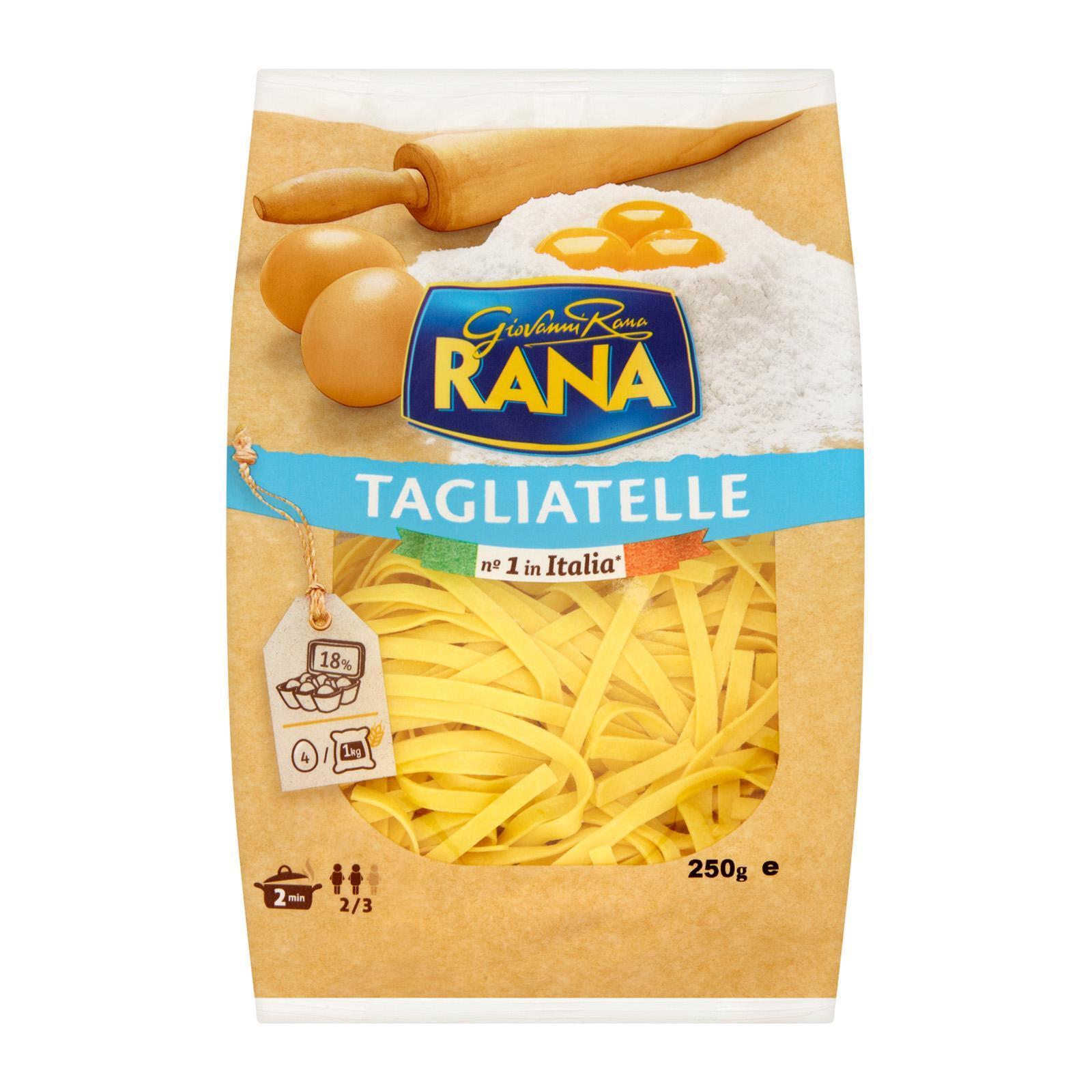 Giovanni Rana Tagliatelle Fresh Egg Pasta By Redmart.
