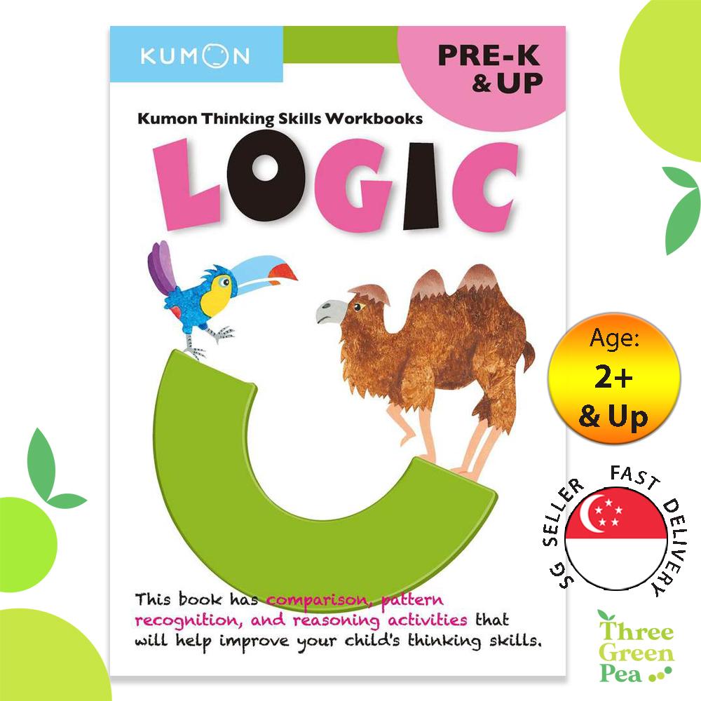 Kumon Thinking Skills Logic Workbook (Pre-K & Up)