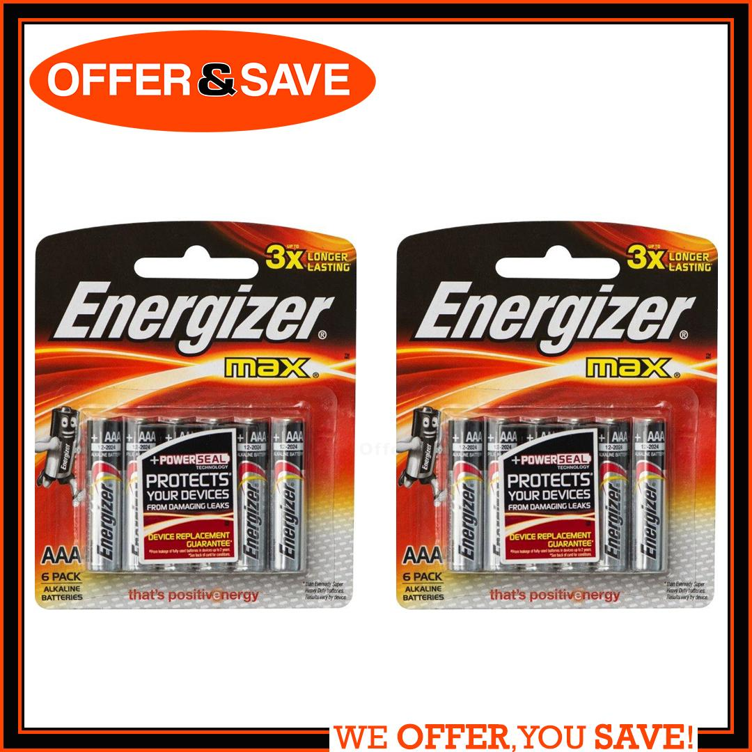 [bundle Of 2] Energizer Aaa Alkaline Battery Value Pack By Offer & Save.
