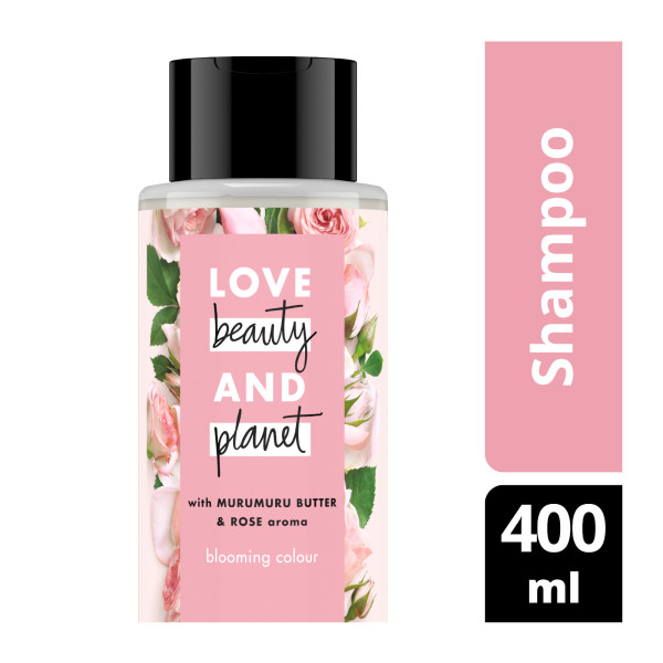 Buy Love Beauty And Planet Murumuru Butter Rose Blooming Colour Shampoo 400ml Singapore