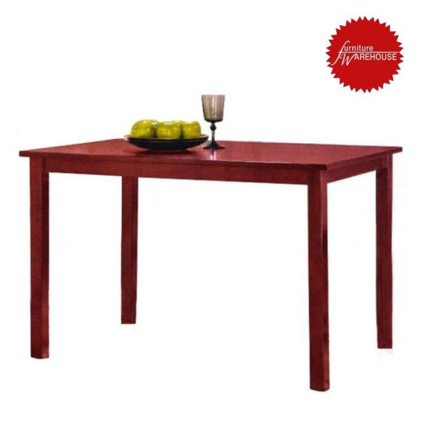 Mandy Wooden Dining Table - Mahagony Colour