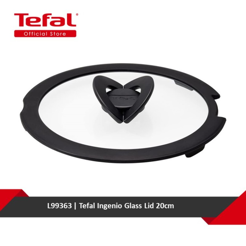 Tefal Ingenio Glass Lid 20cm L99363 Singapore