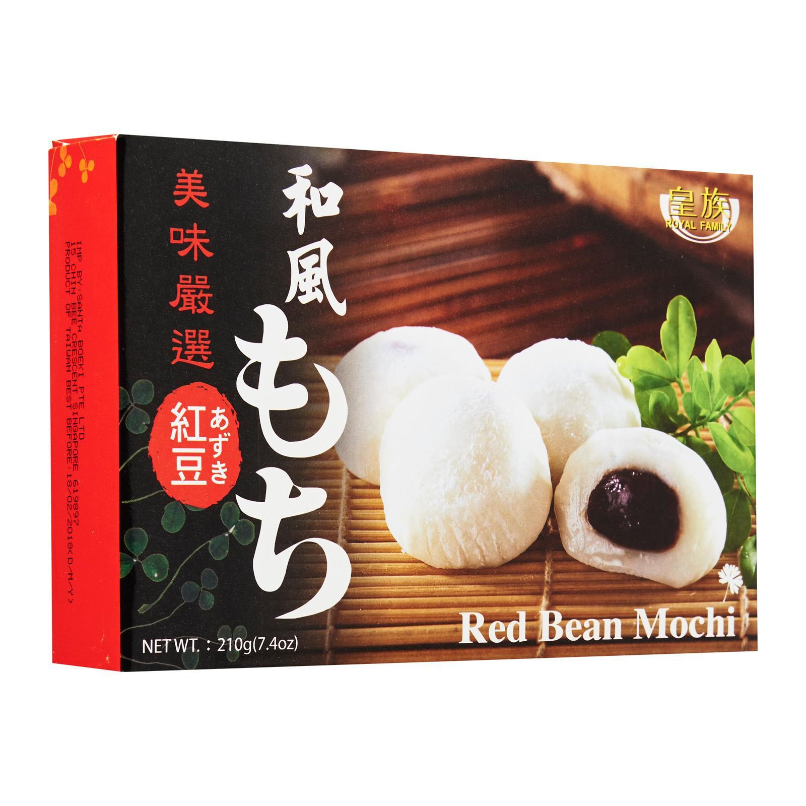 Royal Family Red Bean Mochi Sweet - By Prestigio Delights