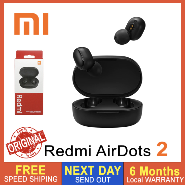 [SG Seller] XiaoMi Redmi Airdots 2 (2020 Latest - 2nd Generation), True Wireless Earbuds Bluetooth 5.0 TWS Earphone Headset [Local Warrenty] Singapore