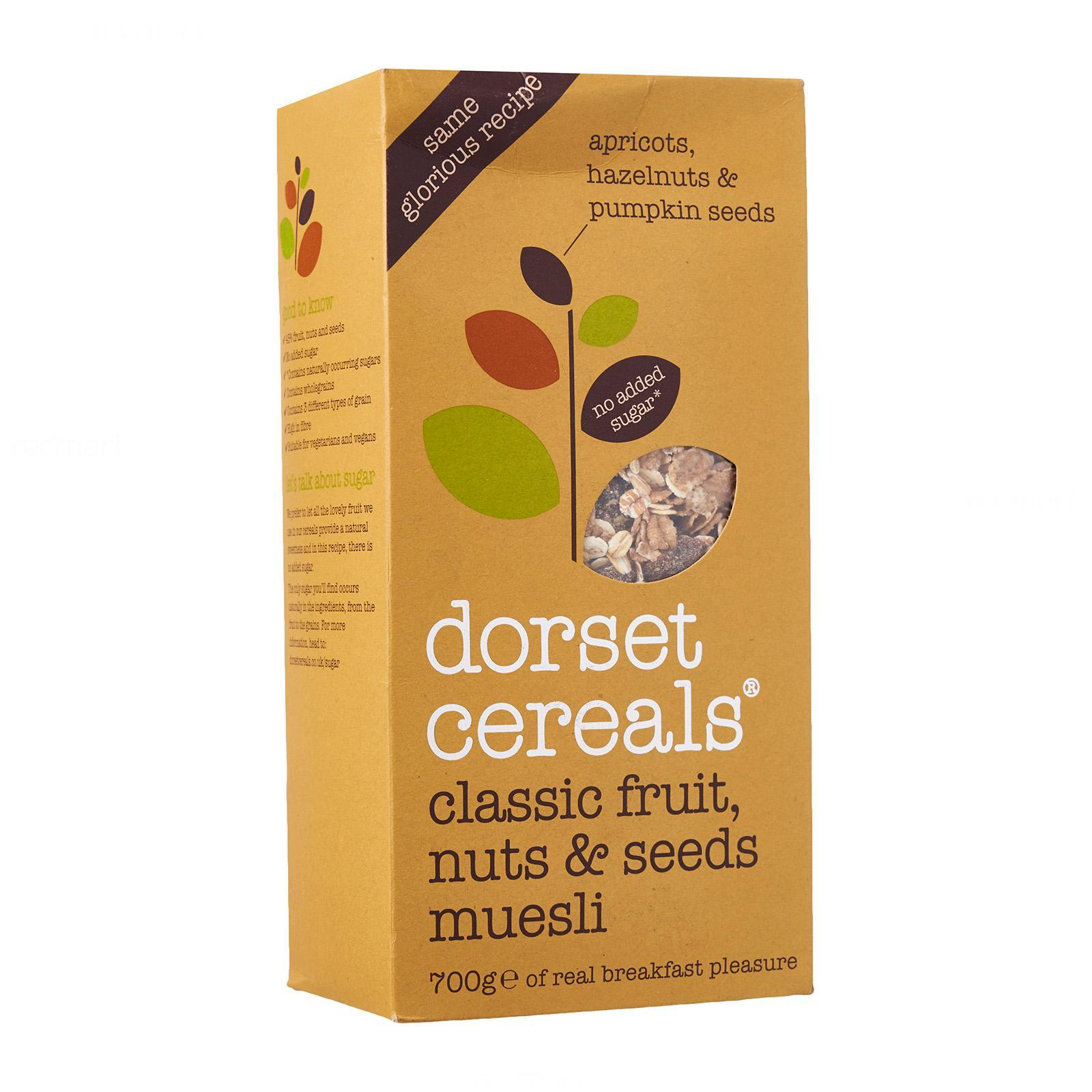 Dorset Cereals Fruit Roasted Nuts And Seeds Muesli