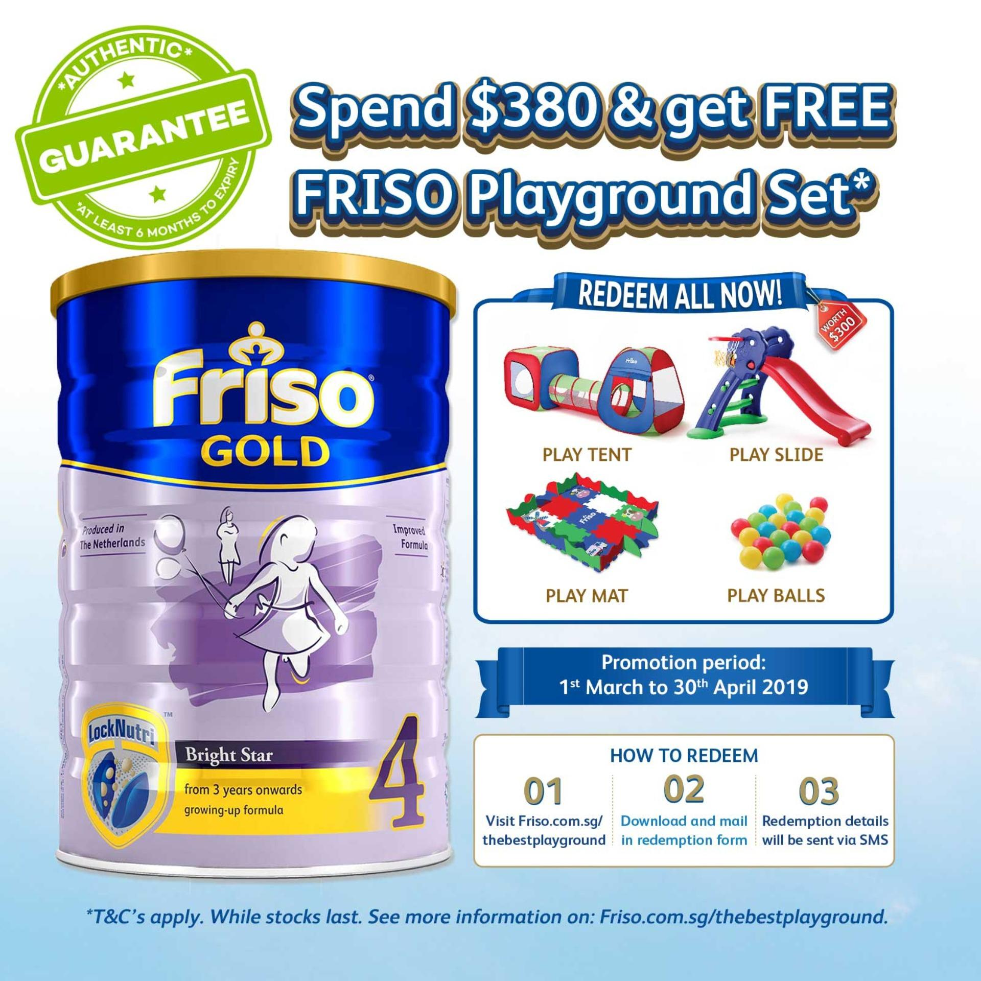 Friso Gold 4 Growing Up Milk 1.8kg By Lazada Retail Friso.