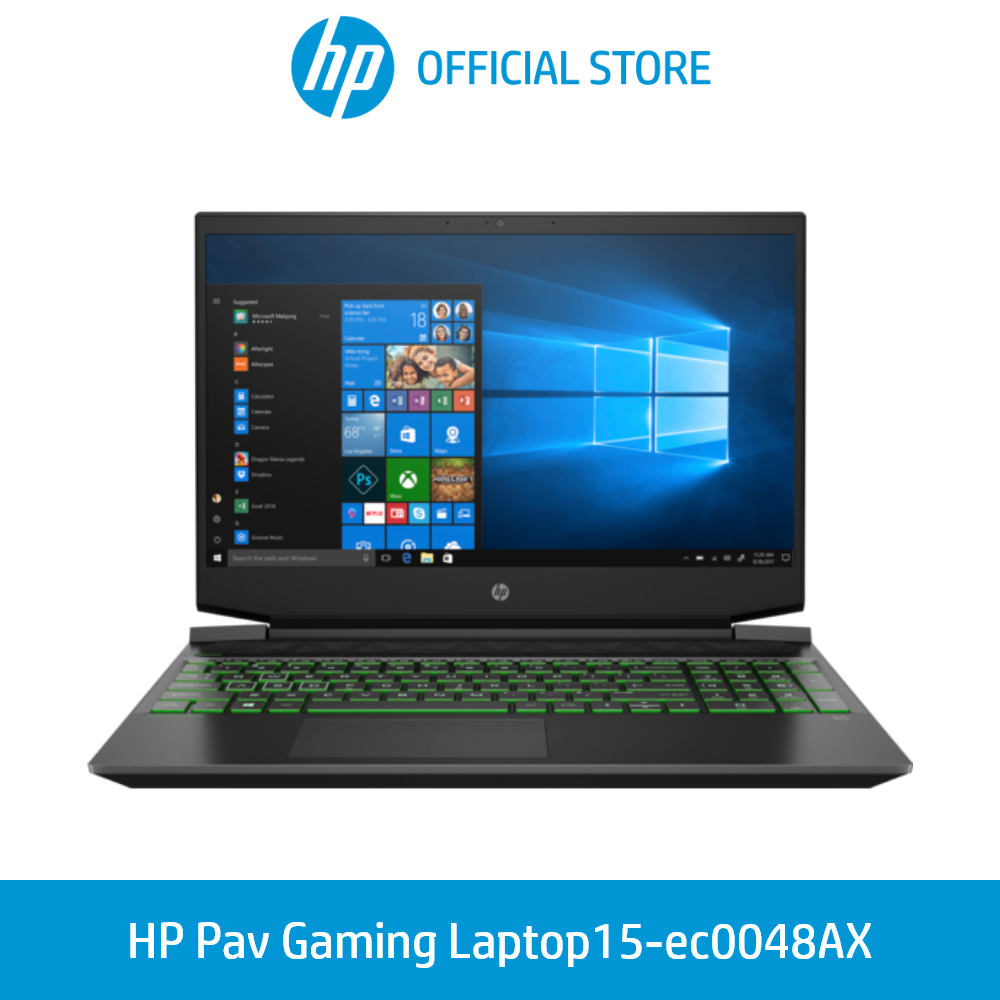 HP Pavilion Gaming Laptop 15-ec0048ax AMD Ryzen™ 7 3750H 16GB Memory 1TB HDD Storage 256 SSD Storage Windows 10