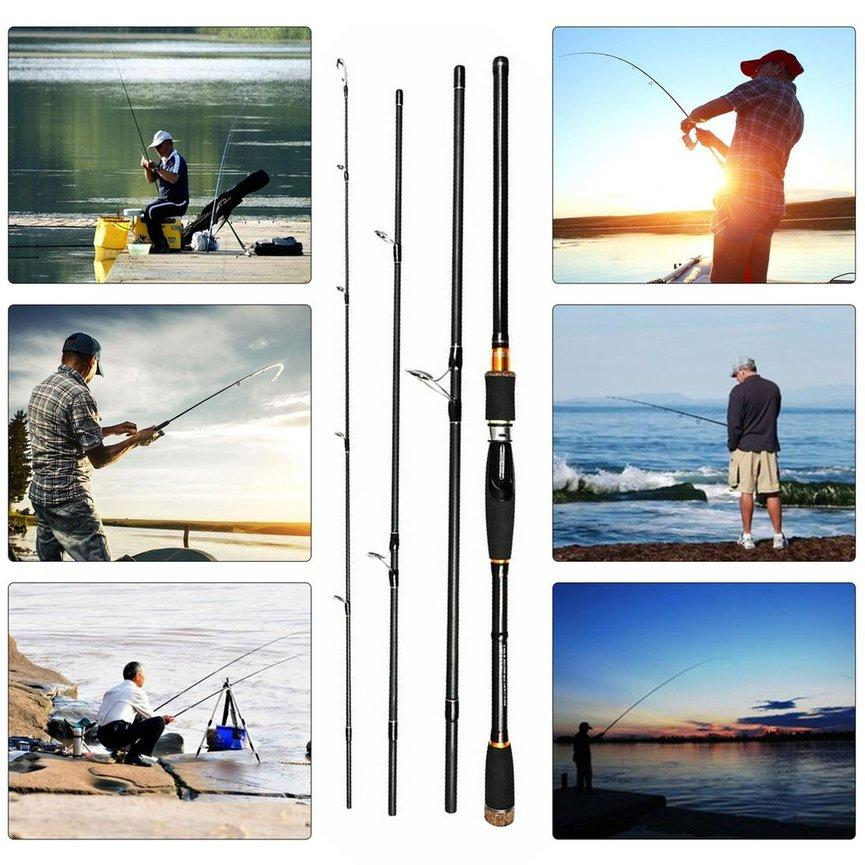 Ubest Portable Super-Hard Tune High-Carbon Long Shot Lure Rod Sea Rod Fish Pole Black 3.0m - Intl By Ubestpom.
