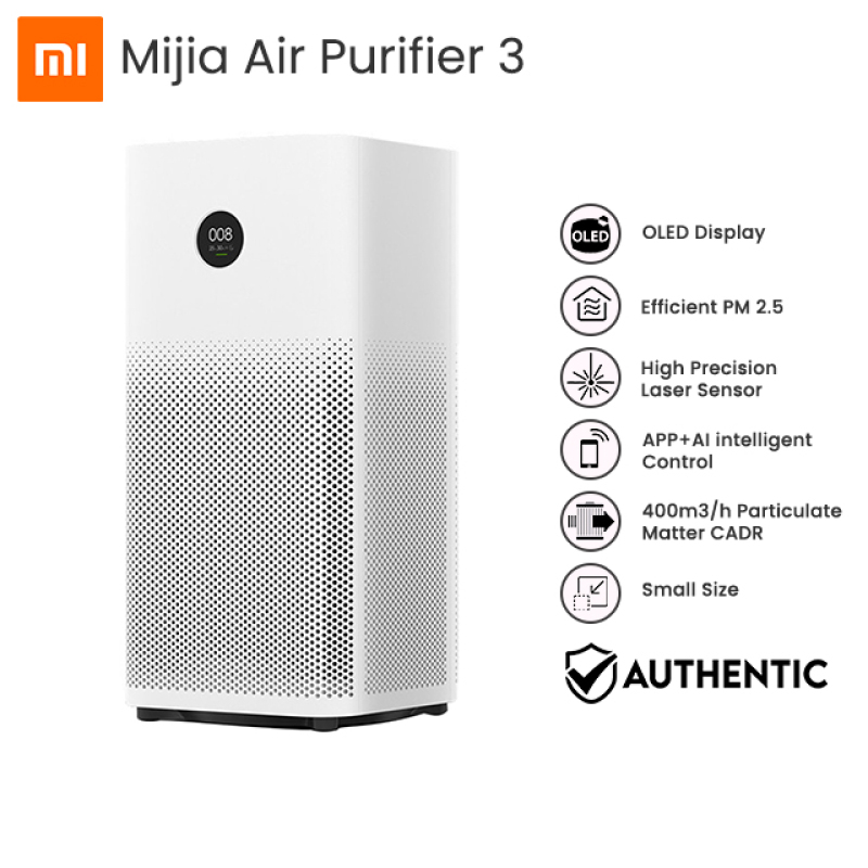 Xiaomi Mi Smart Air Purifier 3 with True HEPA and Anti Bacterial Filter Singapore