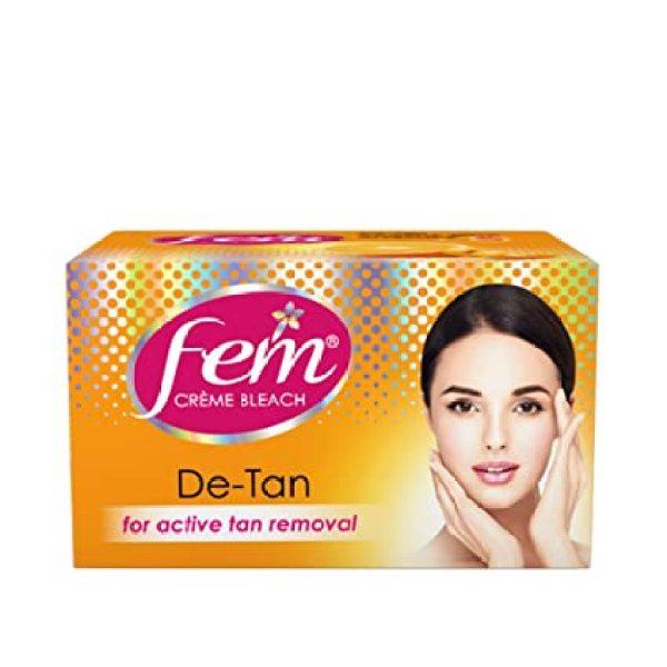 Buy FEM CREME BLEACH DE-TAN FOR ACTIVE TAN REMOVAL 30G Singapore