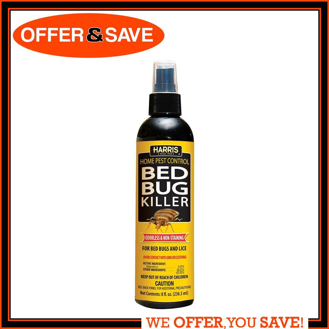 PF HarrisBed Bug & Lice Killer Spray (8Oz)  (MADE IN USA)