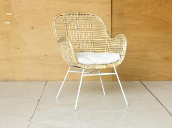 Sustainable Rattan Aska Chair Suitable for dinning table or living room chair