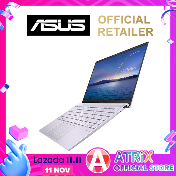 【Same Day Delivery】New ASUS Zenbook 14 UM425IA-AM082T〖Free Office 2019〗16GB LPDDR4X | Ryzen7 4700U | 100%sRGB Display | 1.22kg | Win10 Home | 2Yrs ASUS Warranty