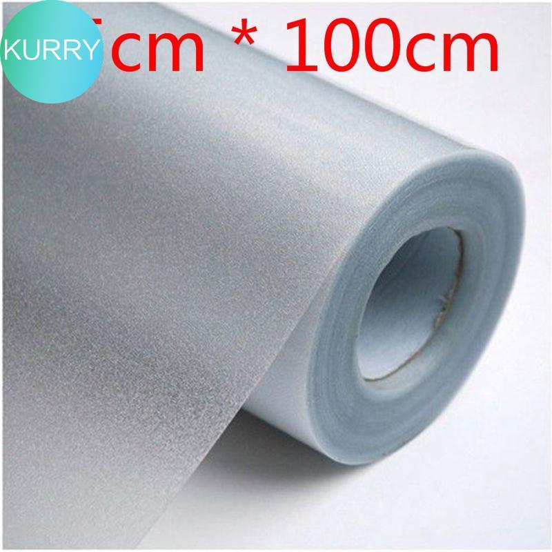 Kurry 45X100cm -45X2000cm New 1 Roll Frosted Privacy Frost Bedroom Bathroom Glass Window Film Sticker (Buying two is more cheaper, the more you buy, the more discounts you have )