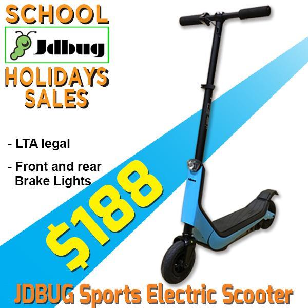 Jdbug Sports Es312 Electric Scooter (300w) By Trimen Ventures Pte Ltd.