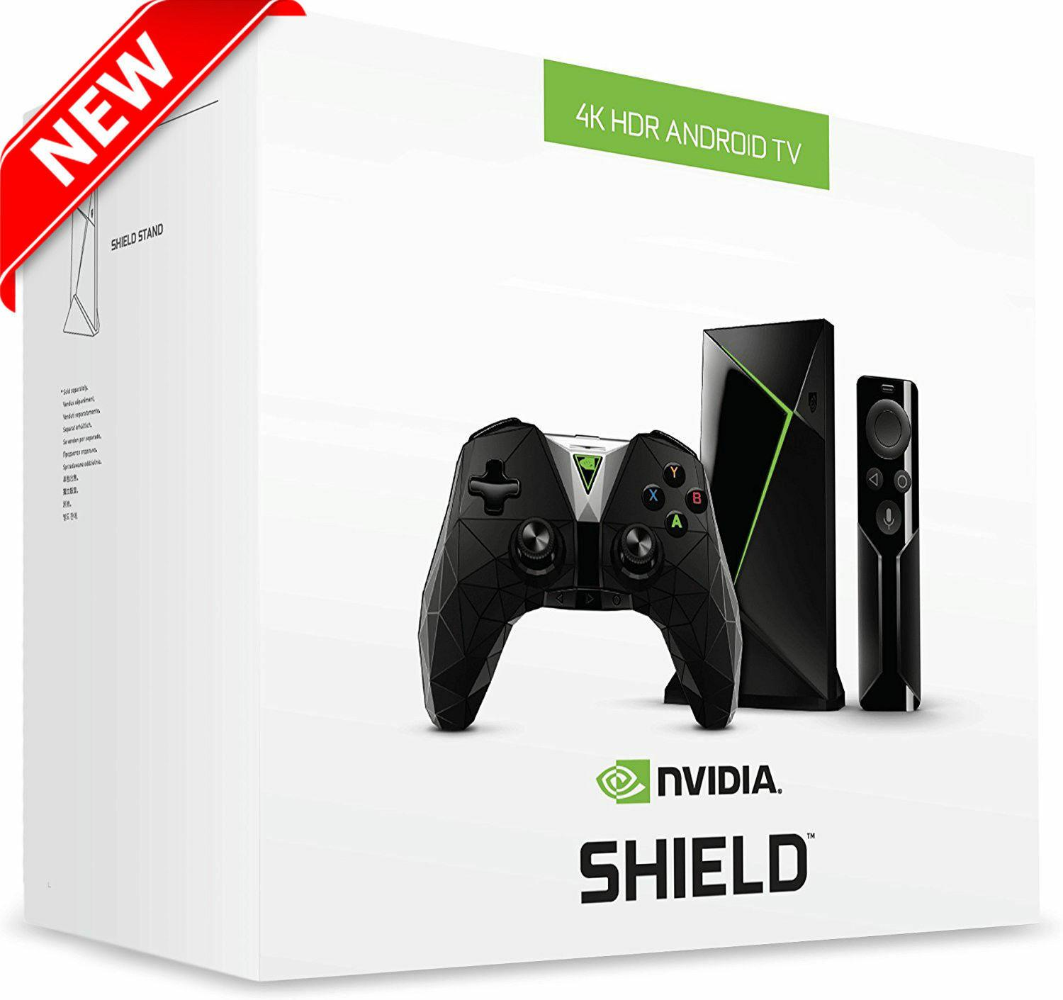2019 NVIDIA SHIELD TV Gaming Edition 4K HDR Streaming Media Player with  GeForce NOW Android Media Player