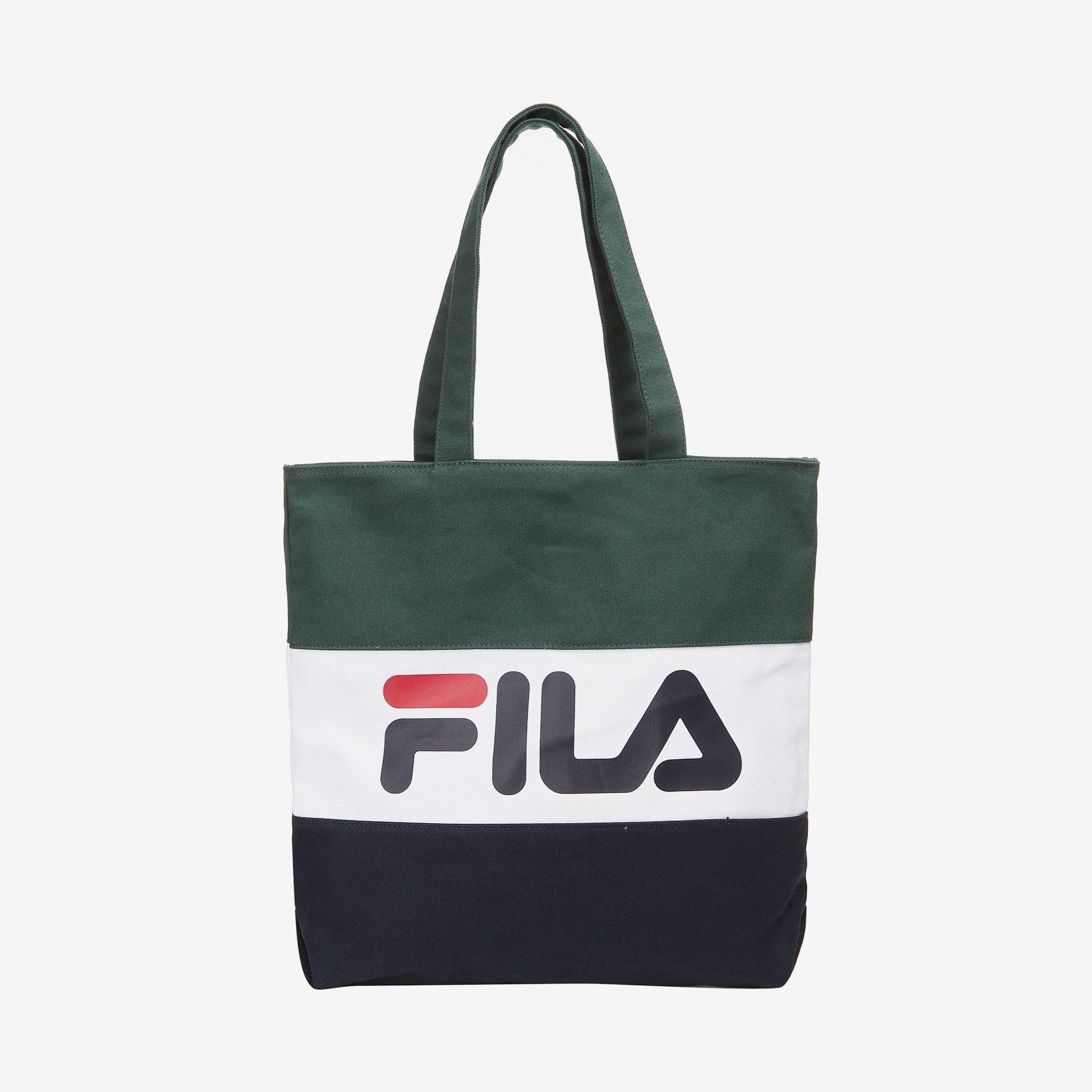 FILA Color Blocking Eco Tote Bag