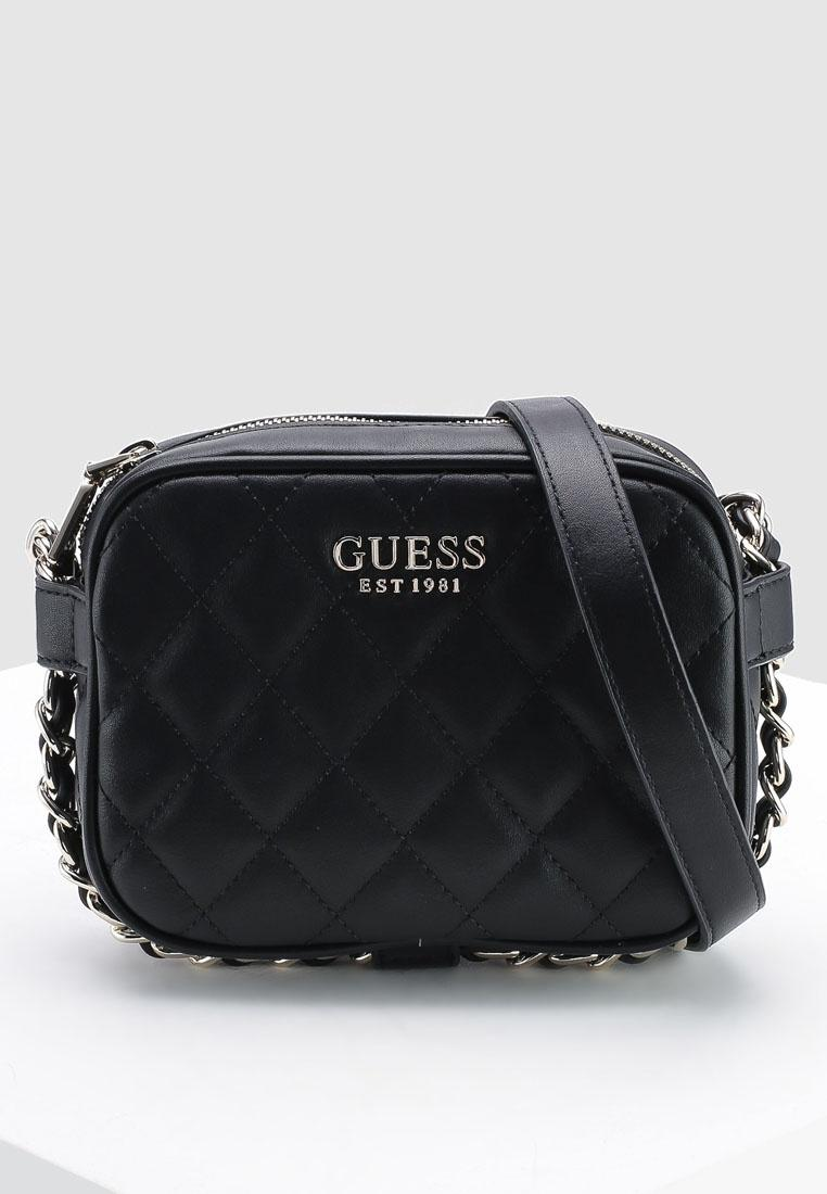 63ae9b18fb98 Guess Sweet Candy Mini Crossbody Zip Top Bag