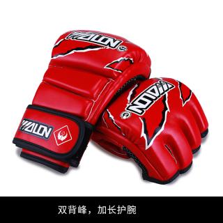 Wulong Găng Tay MMA SANDA Găng Tay Dành Cho Người Lớn Trẻ Em Chiến Đấu Chiến Đấu Bao Cát Tập Luyện UFC Nửa Ngón Găng Tay Đấm Bốc Người Đàn Ông thumbnail