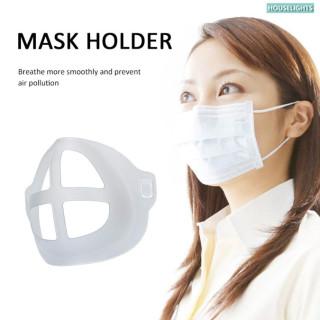 Hộp Đựng Masker 1 Cái 3 Cái 5 Cái Giá Đỡ Mặt Nạ Silicon Chống Ngột Ngạt, Tấm Đỡ Bên Trong Chống Sương Mù PM2.5 Ma-sk Khung 3D Thở Êm Hơn thumbnail