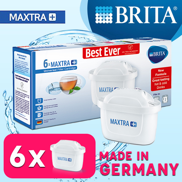 Brita Maxtra+ Filter Cartridge 6 Pcs Pack.