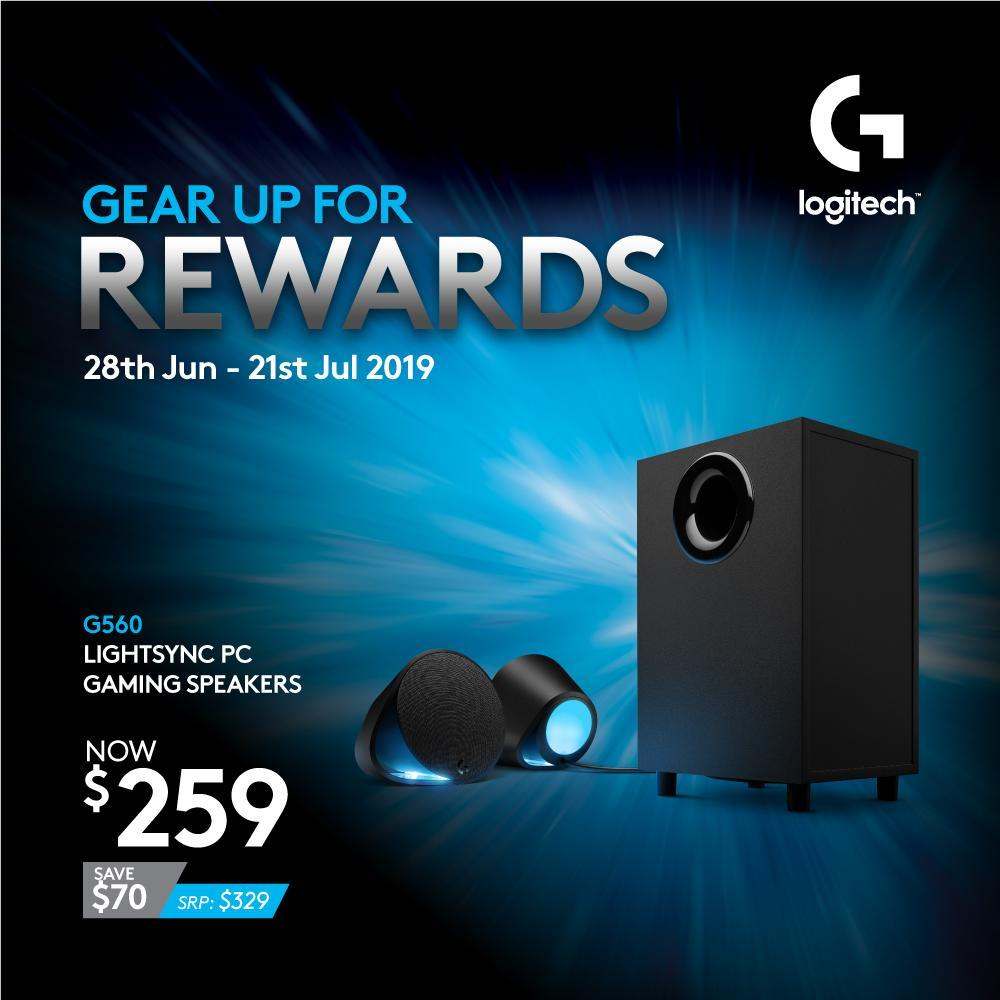 Latest Logitech PC PC Speaker Systems Products | Enjoy Huge
