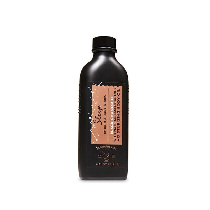 Buy Bath & Body Works : Aromatherapy Sleep - Black Chamomile Moisturizing Body Oil - Bath and Bodyworks - BBW Singapore