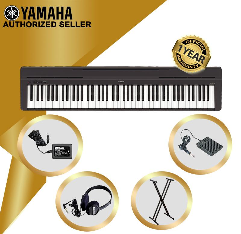 Authorized Seller - Yamaha P-45 Digital Piano P45 Keyboard Music Piano Store Keyboard Only With Keyboard Stand - Yamaha P 45 Series.