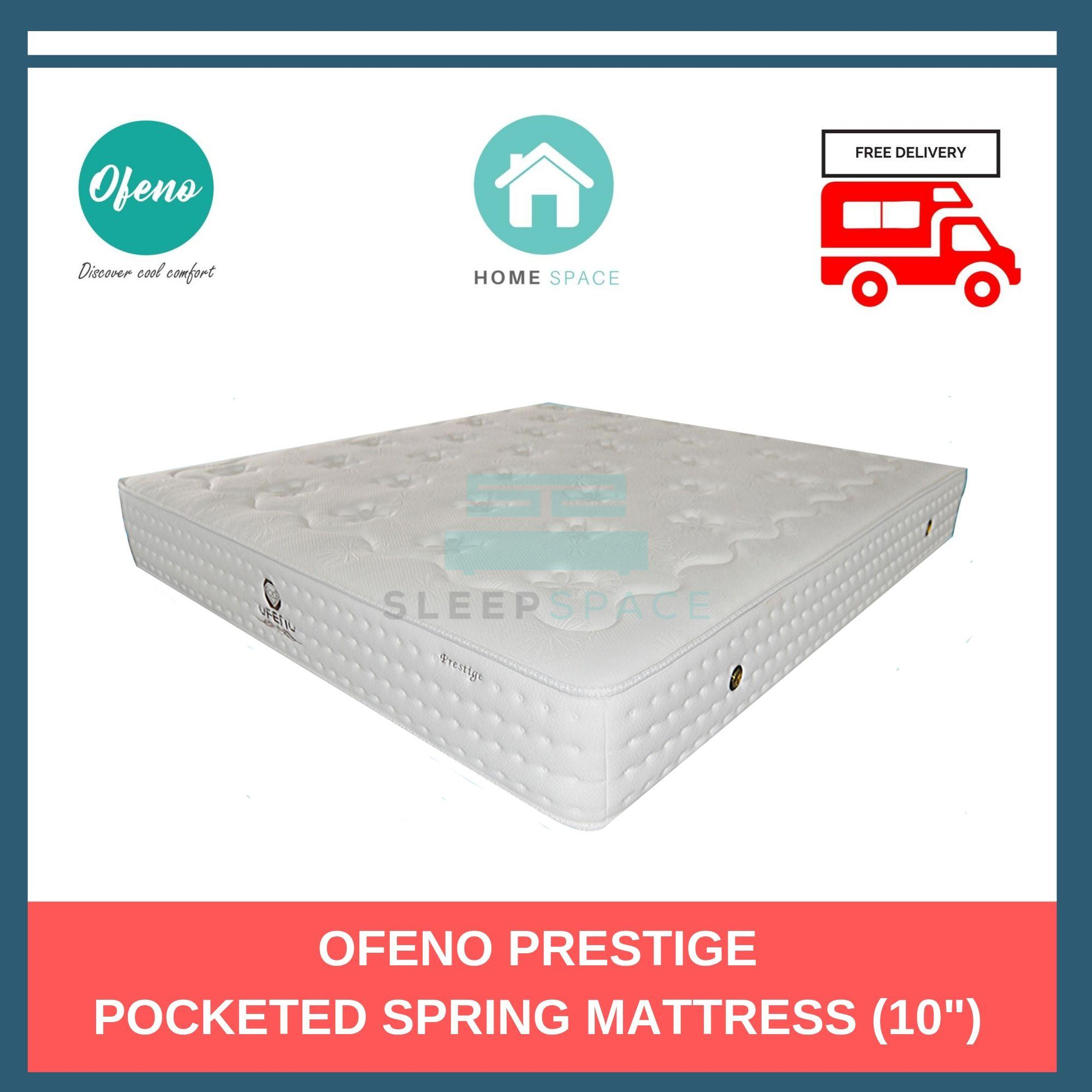 Ofeno Prestige Pocketed Spring Mattress + Free Delivery