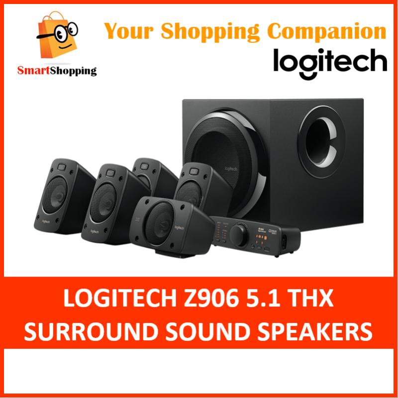(Original) Logitech Z906 Speaker System 5.1 Surround System THX 2 Years SG Warranty 980-000468 Singapore