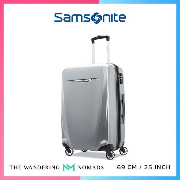 Samsonite Winfield 3 DLX Spinner Luggage 69/25 - Silver