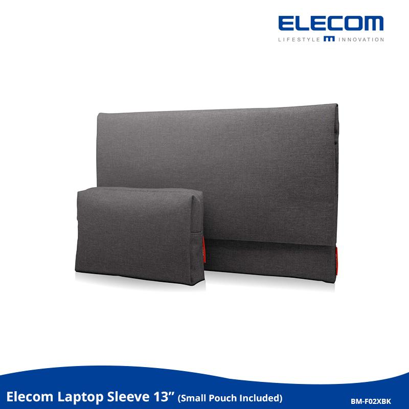 Elecom -Japan Brand- 13  Laptop Sleeve Case Bag, Flap Compact Casual, With Small Pouch,  For Macbook Pro, Surface Laptop & Book, For 12  13  Lenovo Dell Toshiba Hp Asus Acer Chromebook Notebook, Bm-F02x(nv,bu,bk).