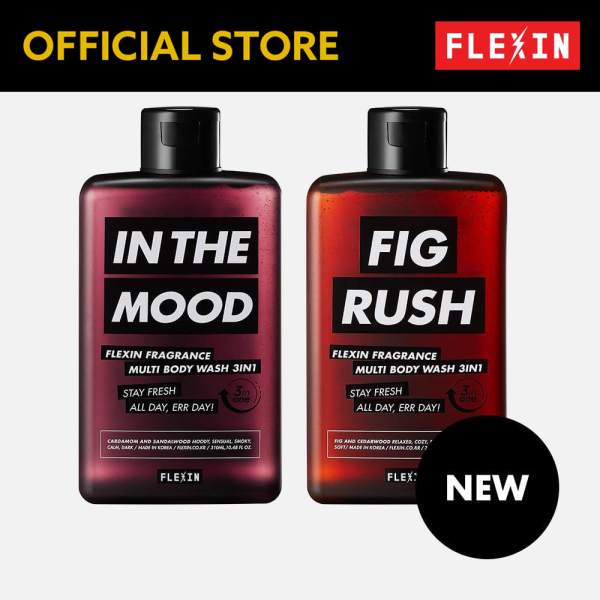 Buy (FLEXIN Official)3-in-1 Multi Body Wash (Mute Line) Blank Corp Singapore