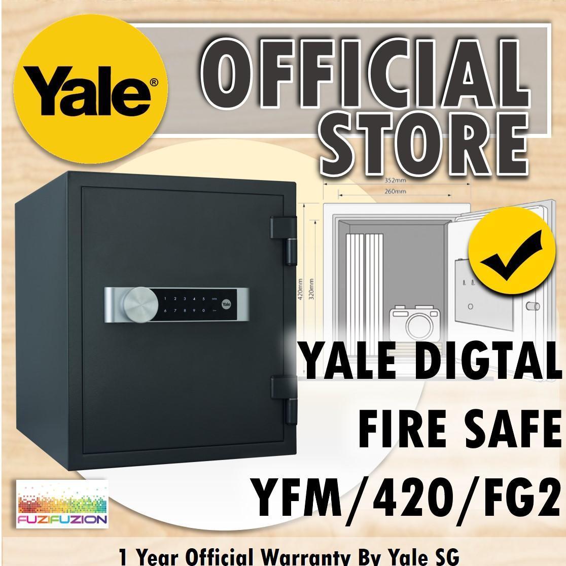 Yale YFM/420/FG2 Large Electronic Office Document Fire Safe