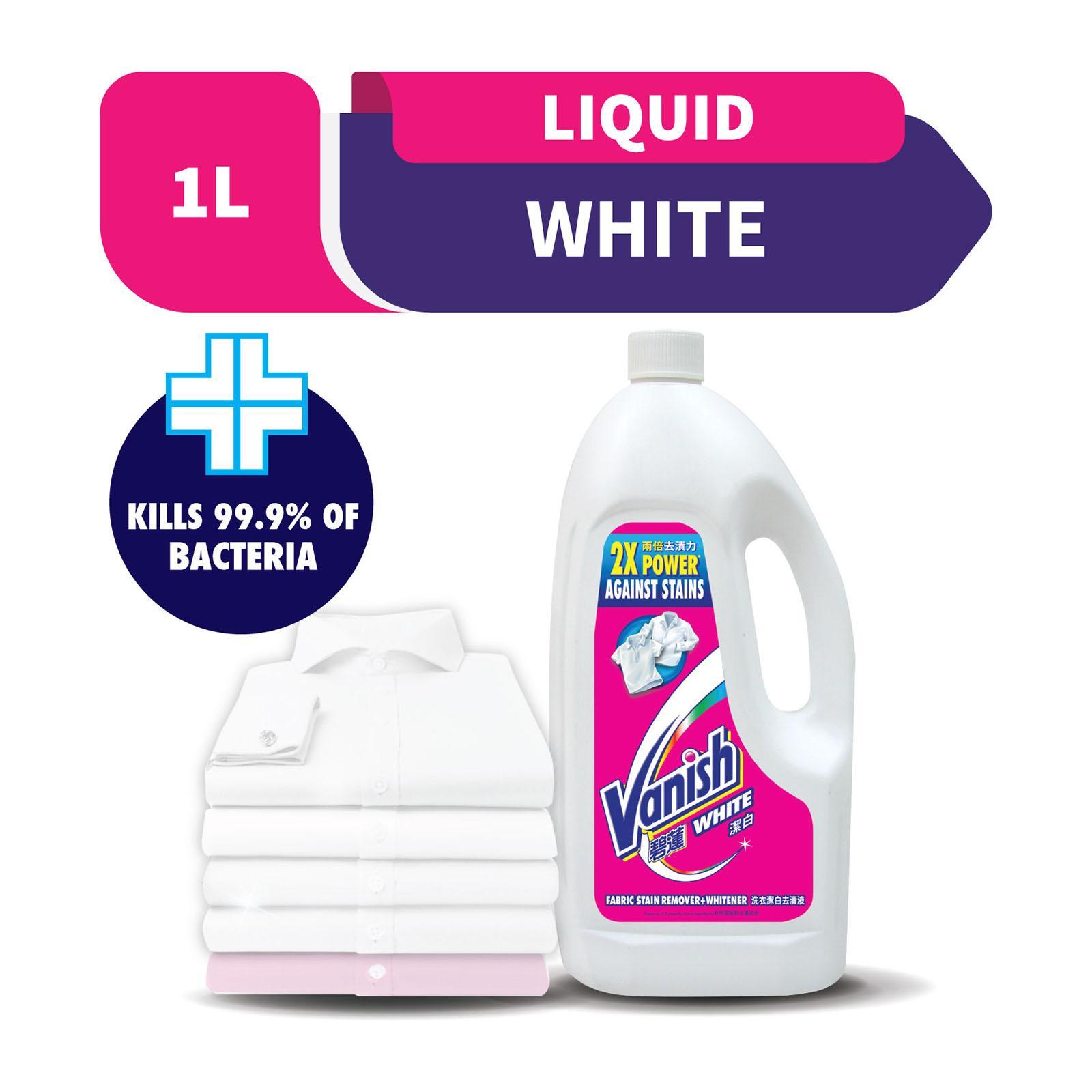 VANISH Liquid Laundry Fabric Stain Remover 1L