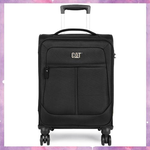Caterpillar Hammer 20 Trolley [Luggage/Suitcase, Zipper pockets outside on the front, Silent glide 8 wheel spinner, Combination TSA lock® on main compartment, Webbing compression straps inside and zipper mesh pocket]