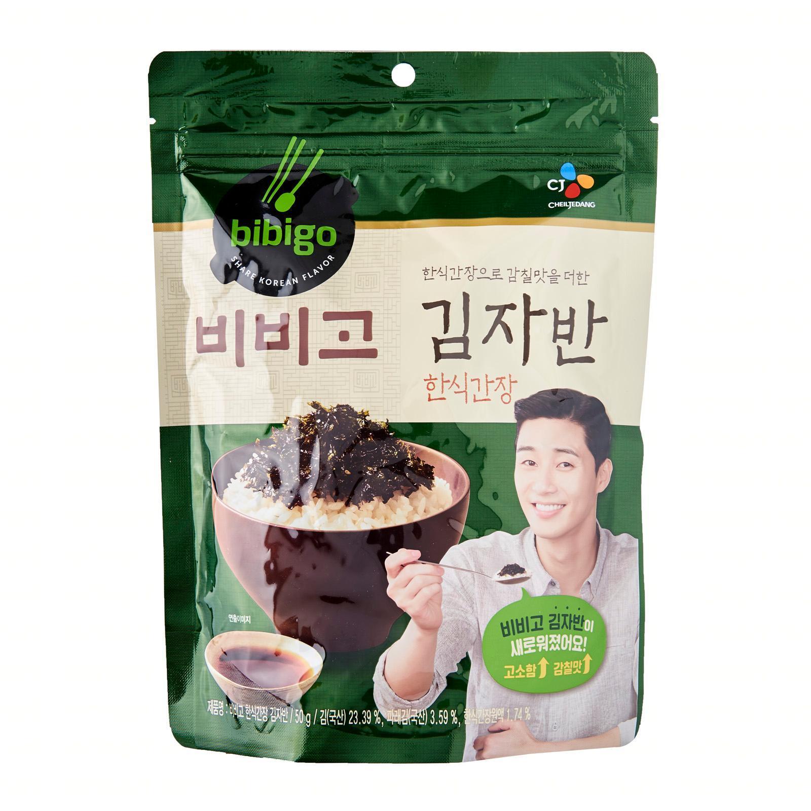 CJ Bibigo Korean Seaweed Flakes - Soy Sauce Flavor 50G