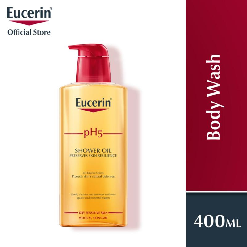 Buy Eucerin Body Wash Unisex ph5 Creme Shower Oil with Pump 400ml Singapore