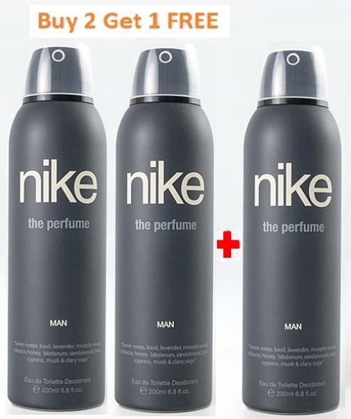 Buy Buy 2 Get 1 FREE - Nike The Perfume Man edt Deodorant 200 ml Singapore